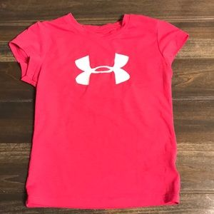 Under Armour Pink Toddler T-Shirt
